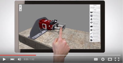 2 Minute Demo Video: Mechanical Engineering Through CPQ (Configure Price Quote) Configurator and 3D Design Automation