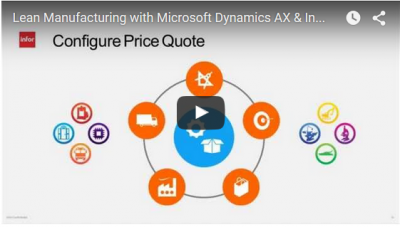 Recorded Webinar: Lean Manufacturing with Microsoft Dynamics AX & Infor CPQ Reduces Costs