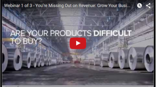 Webinar 1 of 3 - You're Missing Out on Revenue: Grow Your Business with CPQ (Configure Price Quote)